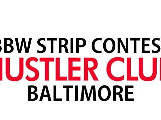 Bbw stripping video Hustler club bbw strip contest video