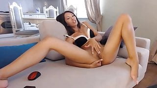 LaPearl long beauty feet & anal