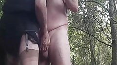 In the Woods with Big Balls