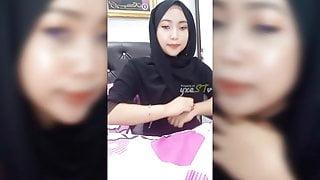 Malay Black Hijab - Bigo Live #36
