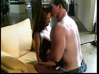 Young brunette sucking cock - Sexy young slut fucking and sucking cock