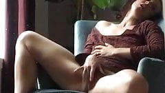 Hot mature masturbating