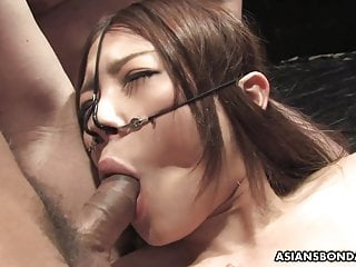 Boys fucking boys in sling Slutty asian babe fucked by the boys in a spitroast session