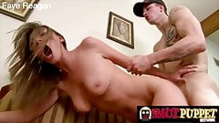 Smut Puppet - Fucked Hard From Behind Compilation Part 1