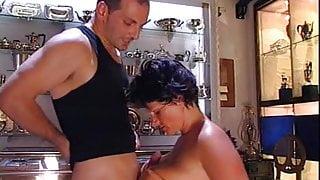 Joy Karins in Argento Di Fiele (1 of 2) classic anal scene