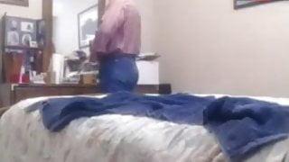 Grandpa sucks and fucks