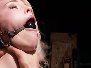Sex fuck bondage Ella nova loves getting tied up and fucked hard