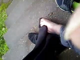 Female masturbation swinging leg public 21yr old scottish female legsfeet in black tights