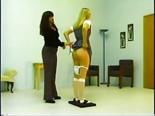 Naked class discipline Real office discipline