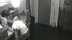 Caught on Surveillance Cam Fucking at Work