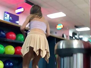 Kristie alley bikini video Step sister lily adams fucks pov in public bowling alley