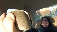 Abby's Ticklish Feet