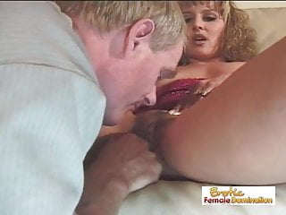 Peg spank spankning spanks spanked - Mature guy cums only after a pegging