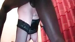 Cuckold sissys wife slave treatment by BBC master Humiliated