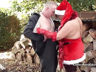 Kim in milwakee escort Big natural boobed mature kim in santa outfit
