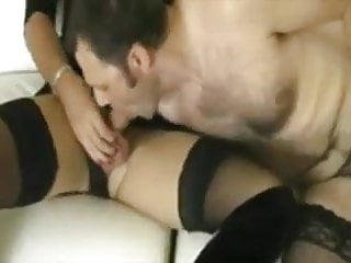 Trailer threesome bisex - Amateur - bisex - they all wear stockings