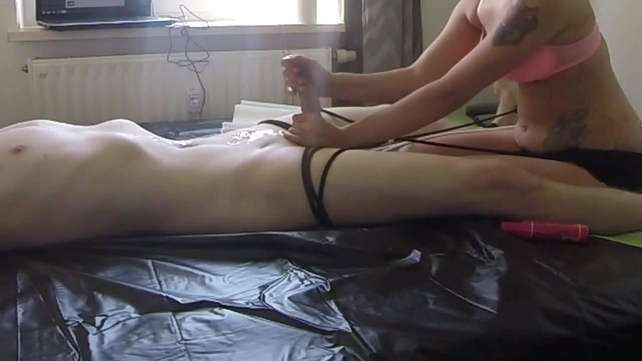 Guy Pillow Humping Orgasm