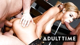 Veronica Leal in DP COMP with Insane Squirts & Anal Creampie