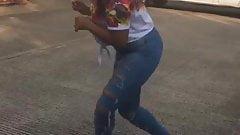 Me dancing cutting shapes