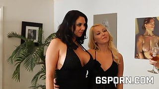 Aaliyah Love and Missy Martinez are lesbians friends