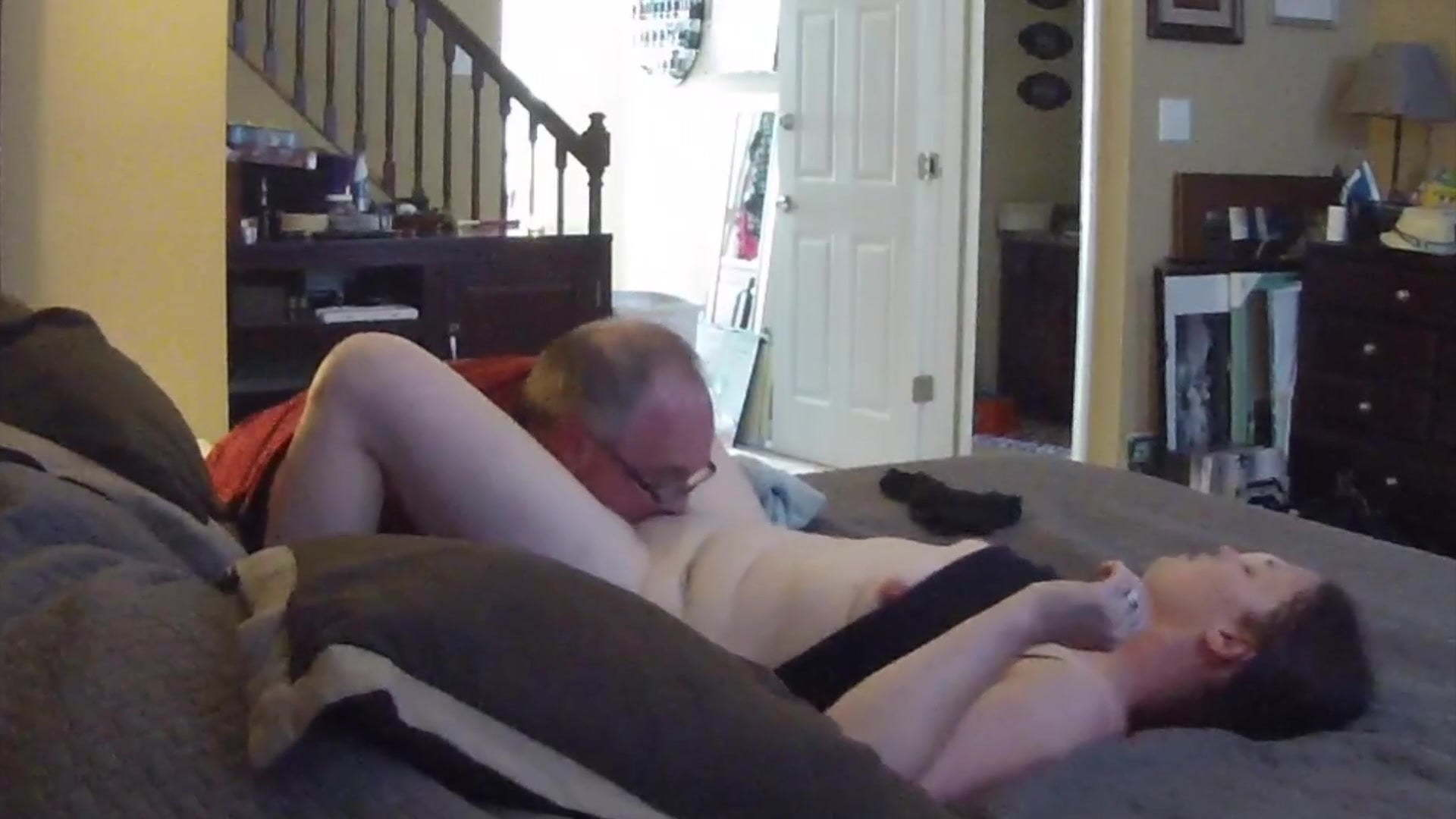 Young Old Pussy Licking
