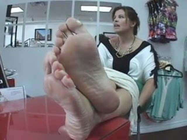 Lesbian Intense Foot Worship