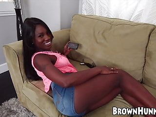 Free cock stroking porn movies Wicked ebony amateurs like to watch and act in porn movies