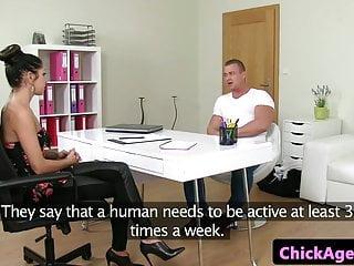 Bodybuilders getting fucked Milf casting agent fucking bodybuilder client