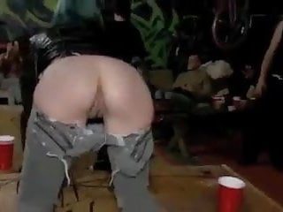 Slut humiliated - Emo slut is humiliated and fisted in public