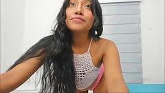 Colombian Teen Webcam Dildoing