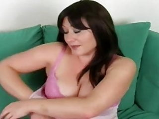 Hentai touching herself - Busty milf: touching herself