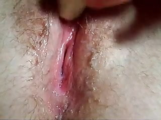 Hot and juicy pussy Very hot hairy and juicy pussy orgasm