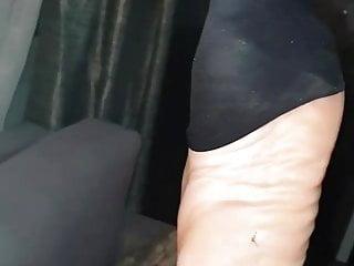 Mom son foot fetish - Pantyhose foot fetish tease