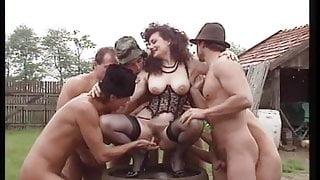 Italian Big Tits MILF Jessica 5 Cocks
