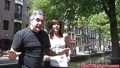 Dutch hooker cumshot by horny tourist
