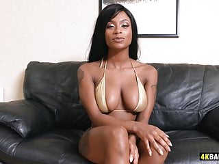 Big dicks coming After a small casting comes a big dick for sexy sarai minx
