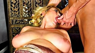 MTHRFKR-Big Saggy Tit Mom Gets Fucked