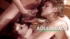 Classic pornstar threesome by AdultPrime
