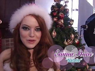 Sexy christmas pics Emma stone sexy christmas shoot