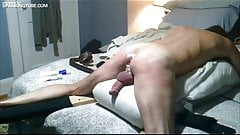 Pegged and cock whipped