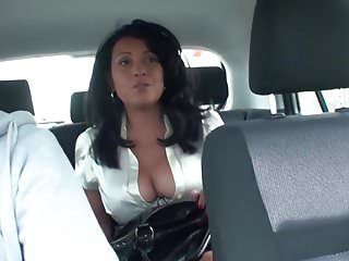 Masturbation while seated Danica collins masturbates in the back seat