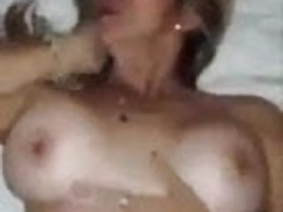 Milk and liquid sex tape - Secretly having sex with stepmother, dad, milk and big pussy