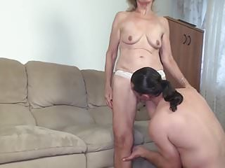 Impressionist painter blue nude - Granny fucked by the painter