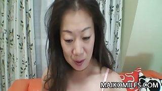 Yoshiko Makihara - Asian Mature Banging A Young Cock