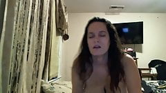 Miss Nat riding a dick