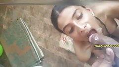 Слугу-девушку трахают в задницу и камшот в рот