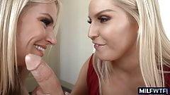 2 Blonde MILFs