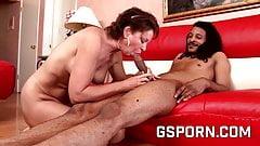 Hot skinny punk milf wants a creampie by big black cock