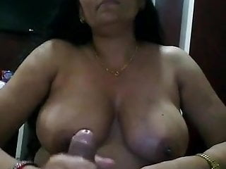 Young ebony hand jobs Indian aunty giving hand job to the young man