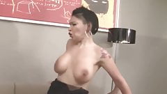 Busty French Mature Caro La Petite Bombe Gets Her Asshole Re